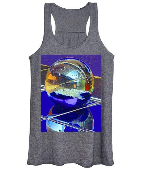 Blue Sphere Women's Tank Top