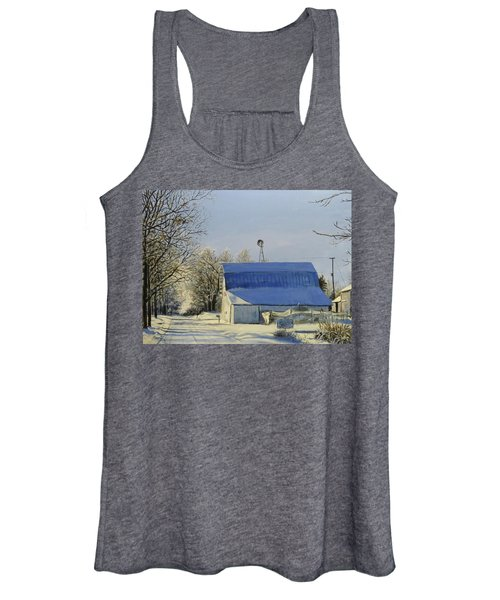 Blue Sunday Women's Tank Top