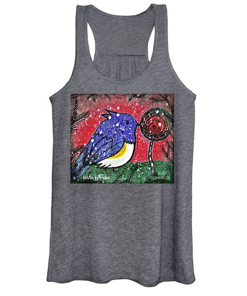 Bluebird Of The Season Women's Tank Top