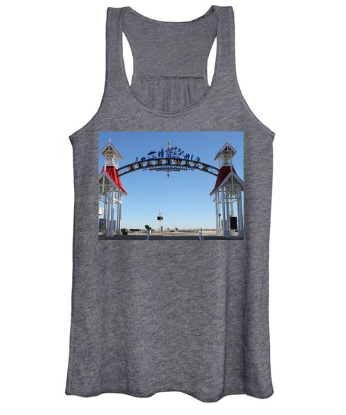 Boardwalk Arch At N Division St Women's Tank Top