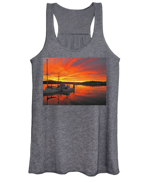 Boardwalk Brilliance With Fish Ring Women's Tank Top
