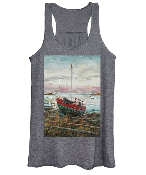 Boat On The Shore Women's Tank Top
