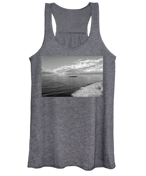 Boat Wake On Florida Bay Women's Tank Top