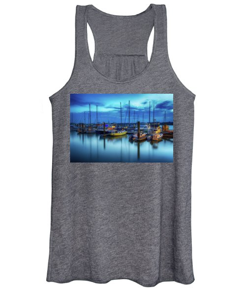 Boats In The Bay Women's Tank Top