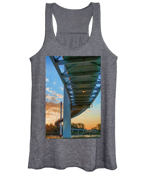 Bob Kerry Bridge At Sunrise-2 Women's Tank Top