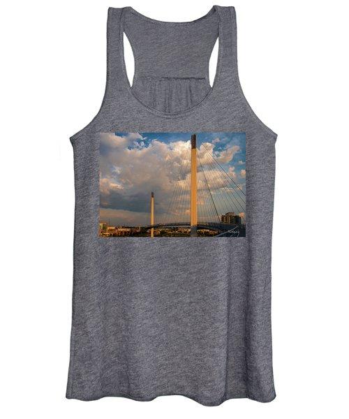 Bob Kerry Bridge At Sunrise-3 Women's Tank Top