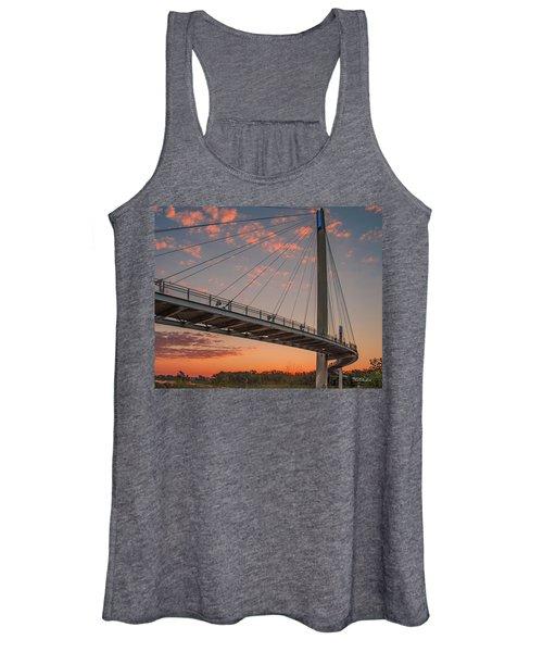 Bob Kerry Bridge At Sunrise-4 Women's Tank Top