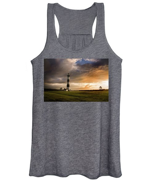 Bodie Lighthous Landscape Women's Tank Top