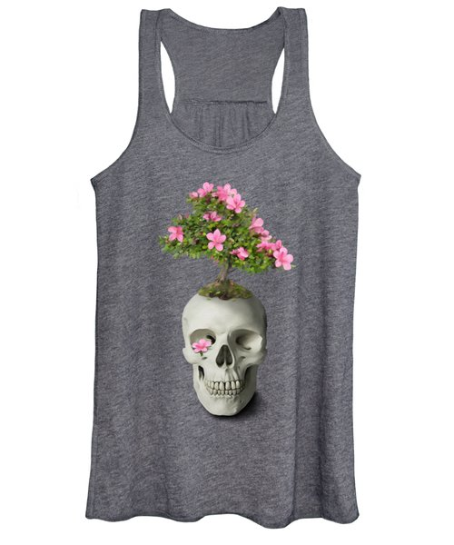 Bonsai Skull Women's Tank Top