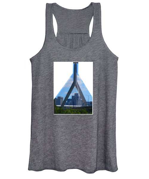 Boston Bridges So Beautiful A Photograph Can Give You All The Time To Enjoy The Moment Women's Tank Top
