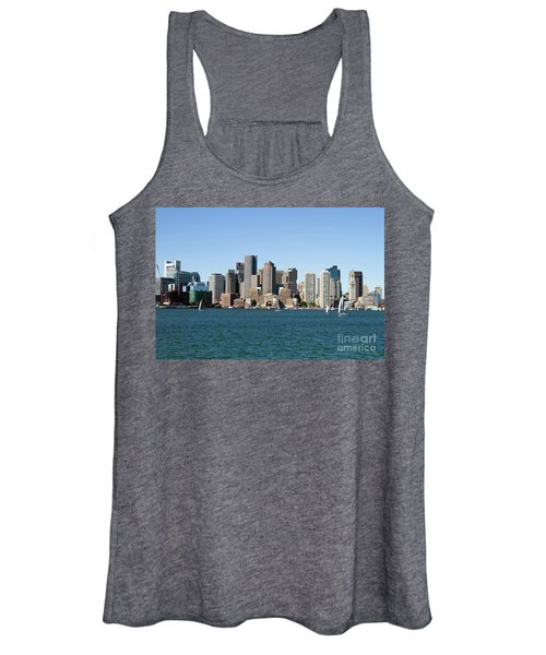 Boston City Skyline Women's Tank Top