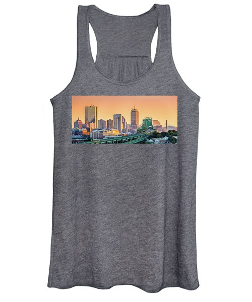 Boston Skyline Women's Tank Top