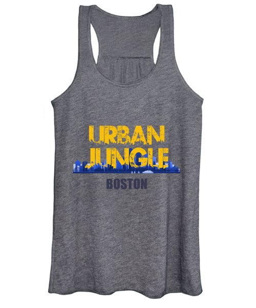 Boston Urban Jungle Shirt Women's Tank Top