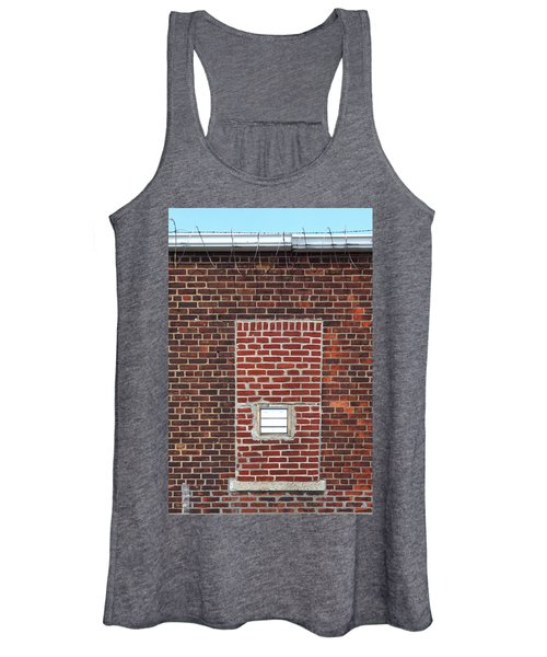 Brick And Barbed Wire Women's Tank Top