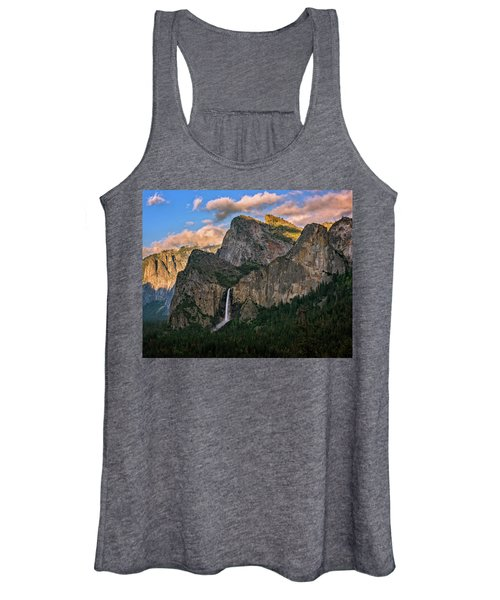 Bridalveil Falls From Tunnel View Women's Tank Top
