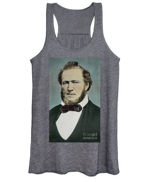 Brigham Young  Photograph Women's Tank Top