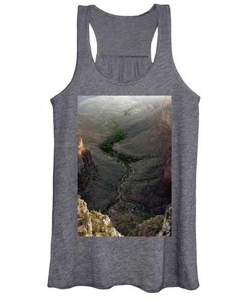 Bright Angel Trail From The South Rim, Grand  Canyon Women's Tank Top