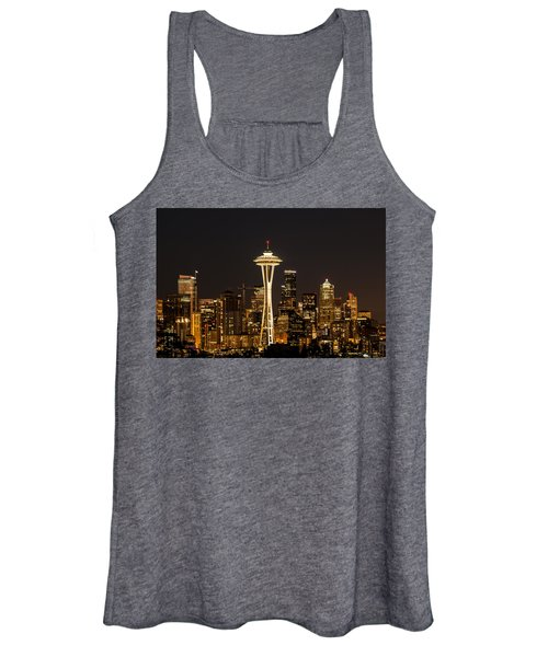 Bright At Night.1 Women's Tank Top