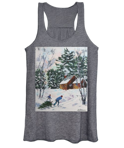 Bringing In The Tree Women's Tank Top
