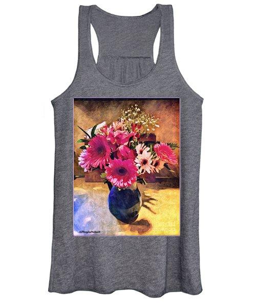 Brithday Wish Bouquet Women's Tank Top