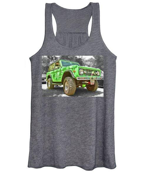Bronco 1 Women's Tank Top