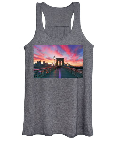 Brooklyn Sunset Women's Tank Top