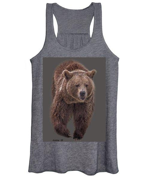 Brown Bear 8   Women's Tank Top
