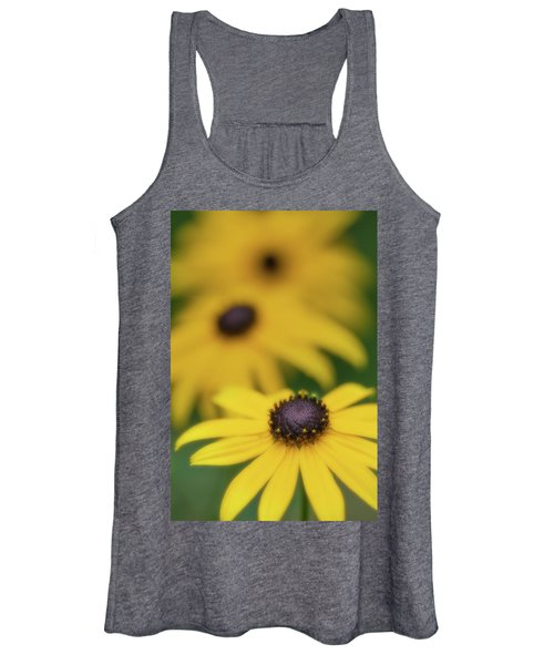 Women's Tank Top featuring the photograph Brown Eyed Susan by Bob Cournoyer