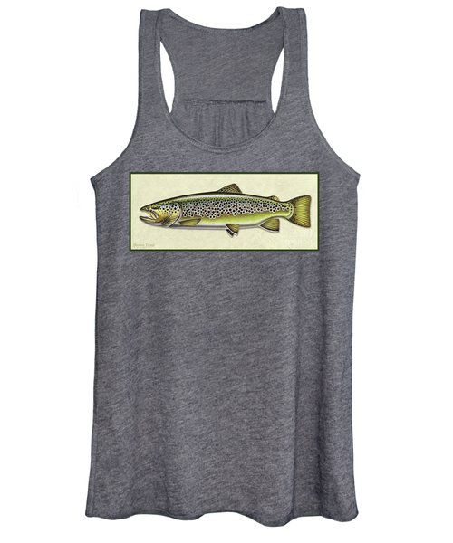 Brown Trout Id Women's Tank Top