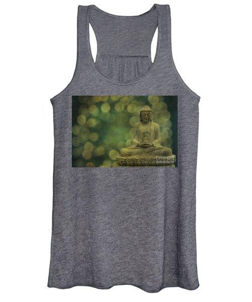 Buddha Light Gold Women's Tank Top