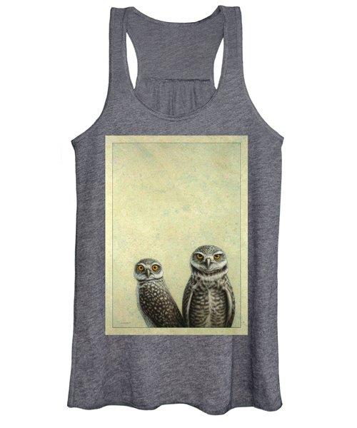 Burrowing Owls Women's Tank Top