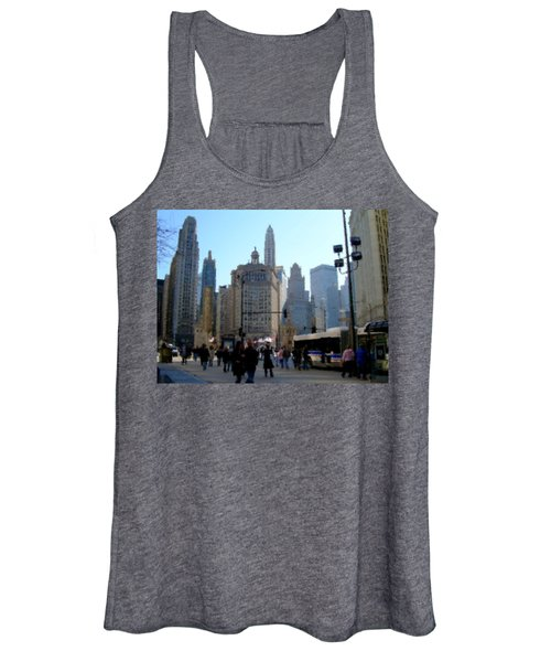 Bus On Miracle Mile  Women's Tank Top