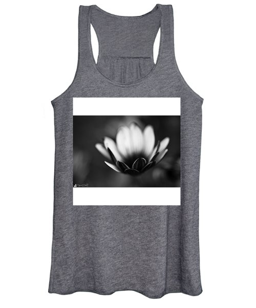 #bw #closeup #petals #someyearsago Women's Tank Top