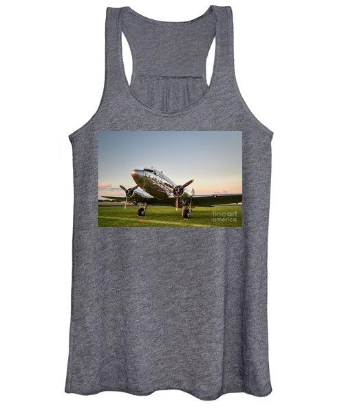 C-47 At Dusk Women's Tank Top