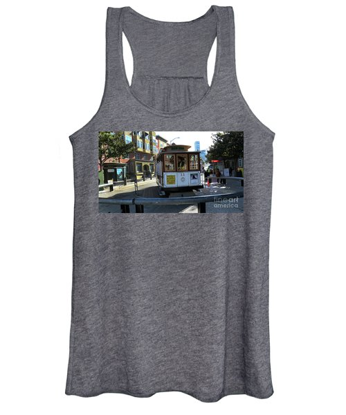 Cable Car Turnaround Women's Tank Top