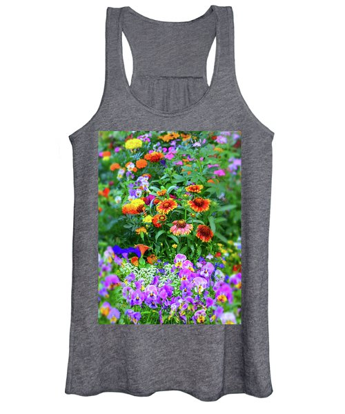 Summer Symphony Of Color Women's Tank Top