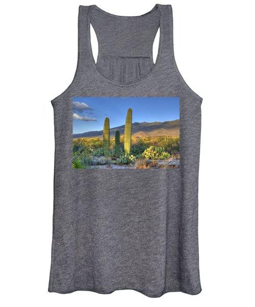 Cactus Desert Landscape Women's Tank Top