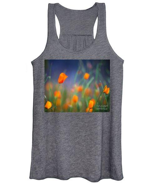 California Poppies 2 Women's Tank Top