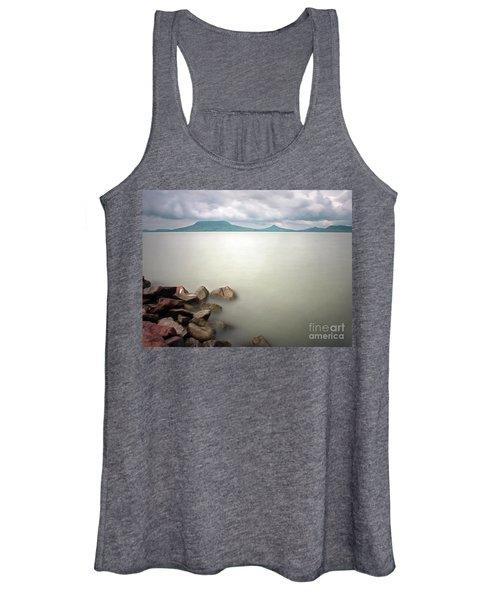 Calm At The Lake Women's Tank Top