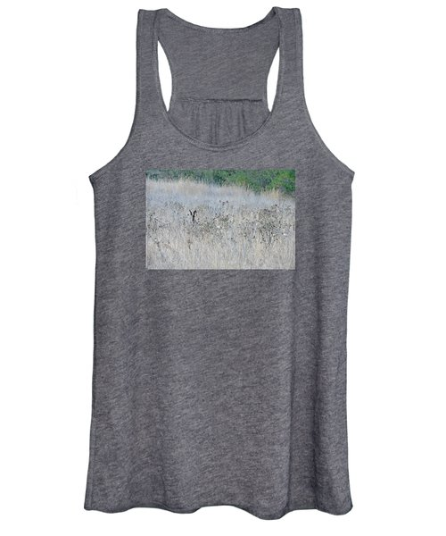Camouflaged Women's Tank Top