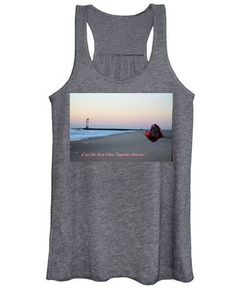 Can We Stay Here... Women's Tank Top