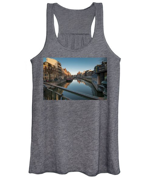 Canal From The Bridge Women's Tank Top