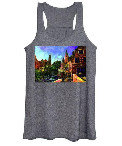 Canal In Bruges Women's Tank Top