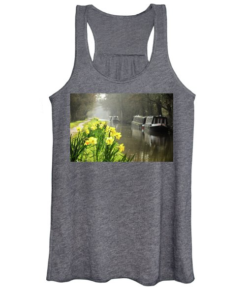 Canalside Daffodils Women's Tank Top