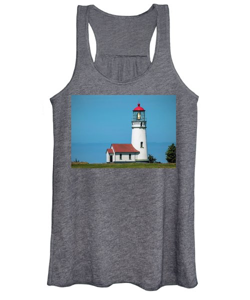 Cape Blanco Lighthouse At Cape Blanco, Oregon Women's Tank Top