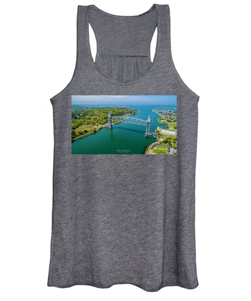 Cape Cod Canal Railroad Women's Tank Top