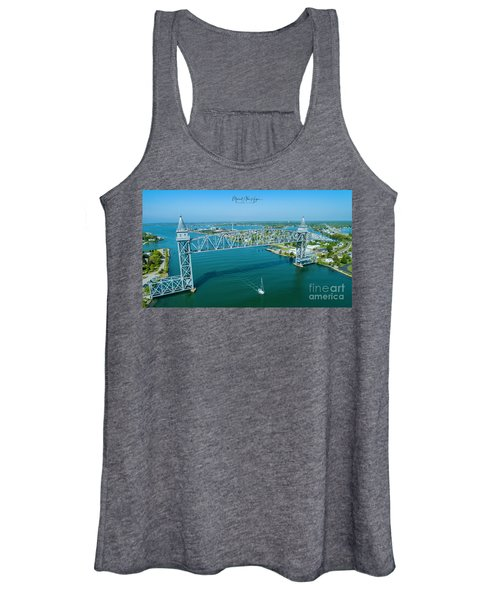 Cape Cod Canal Suspension Bridge Women's Tank Top