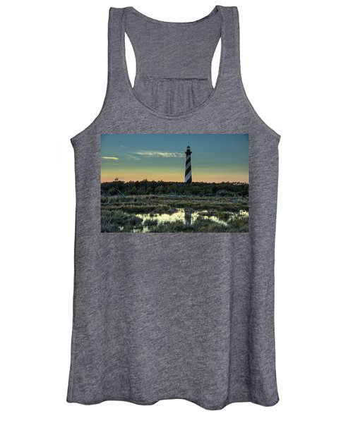 Cape Hatteras Sunset Women's Tank Top