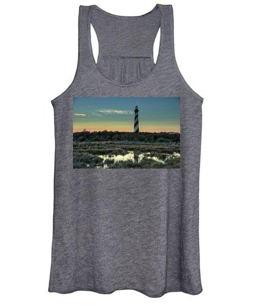 Cape Hatteras Sunset Women's Tank Top