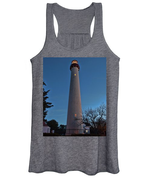Cape May Lighthouse In Evening Women's Tank Top